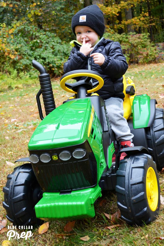 John Deere Kid's Tractor