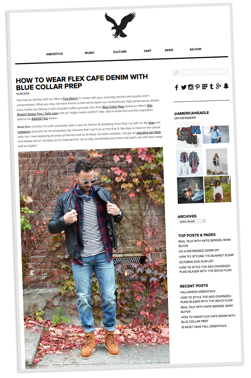 American Eagle Outfitters Blog Feature