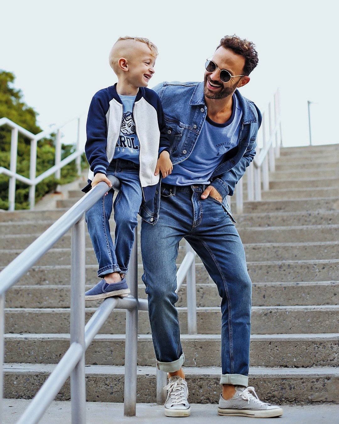 Old Navy Father & Son Outfit