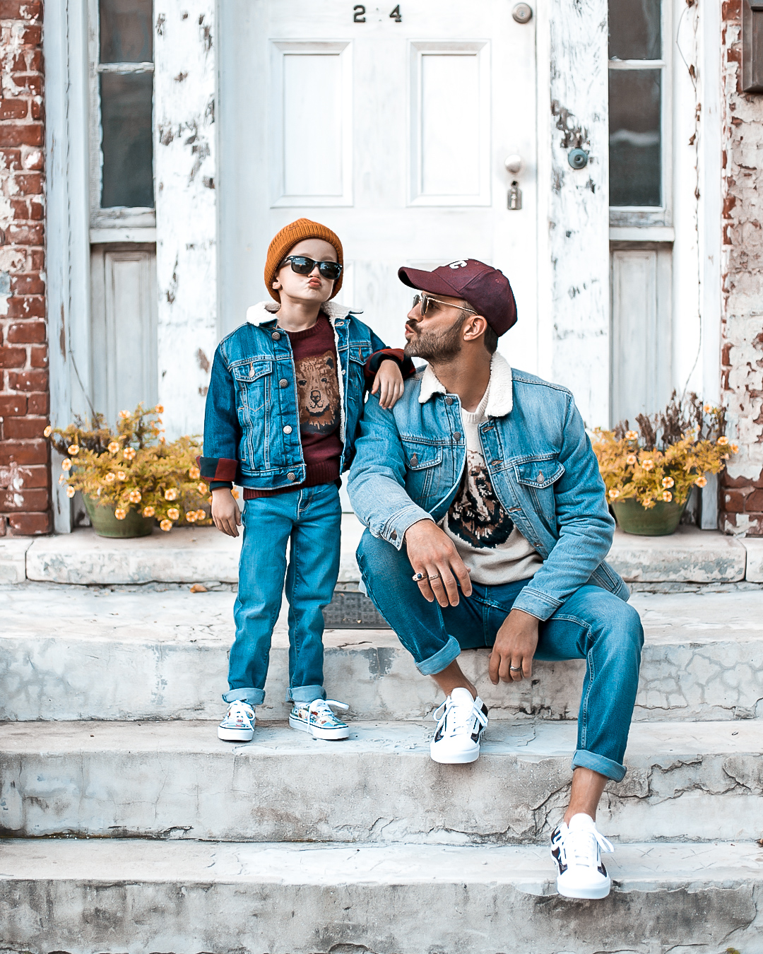 Father and Son Old Navy Outfit