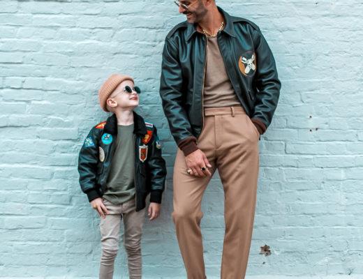 CockpitUSA Father & Son Leather Jackets
