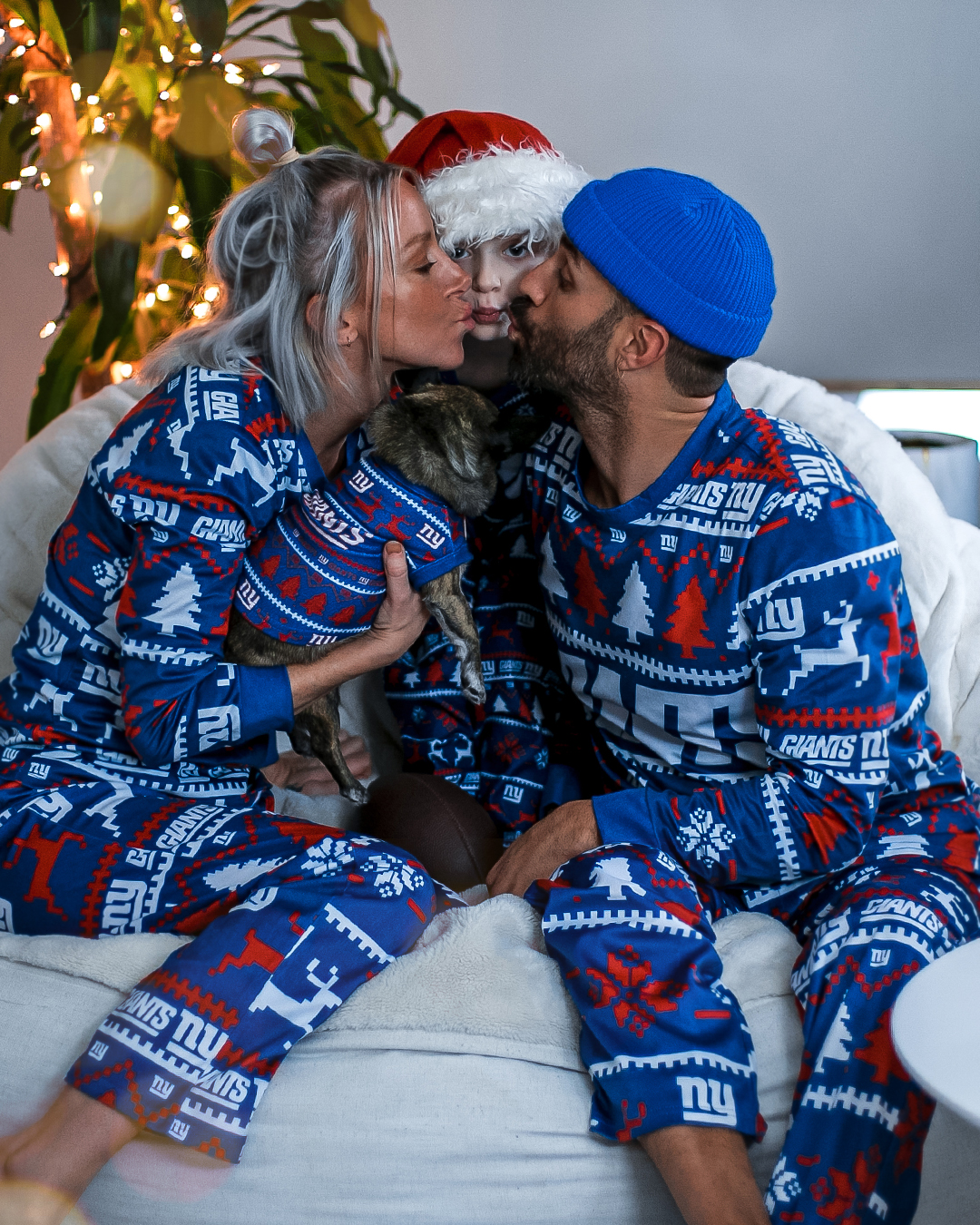 NY Giants Family Pajamas