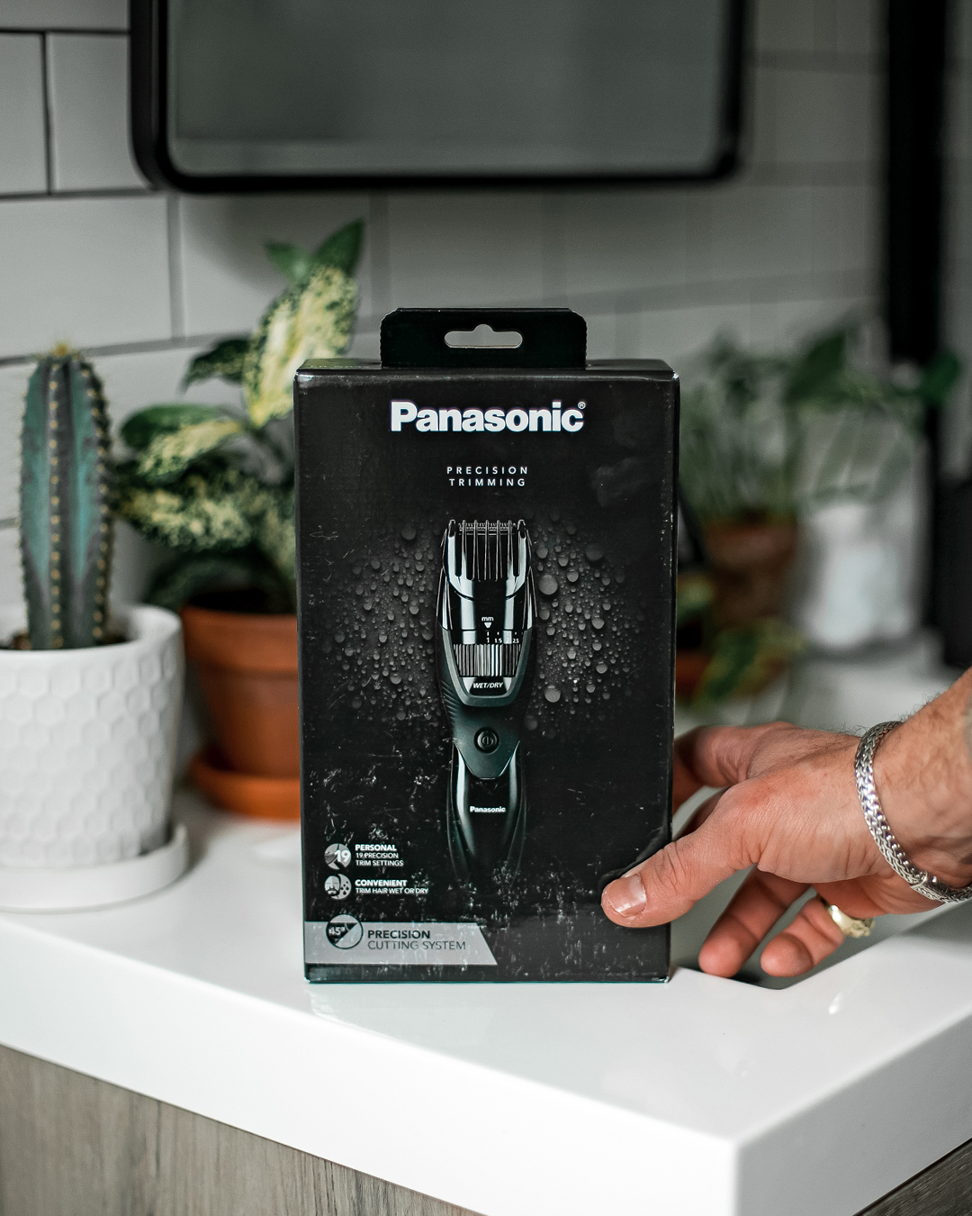 Panasonic Precision Wet/Dry Beard & Hair Trimmer Review