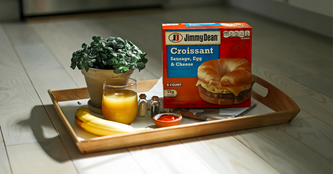 Jimmy Dean Sausage, Egg & Cheese Croissant Sandwiches